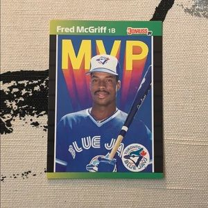 Fred McGriff MVP Card